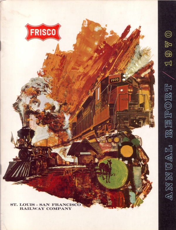 1970 Frisco Annual Report