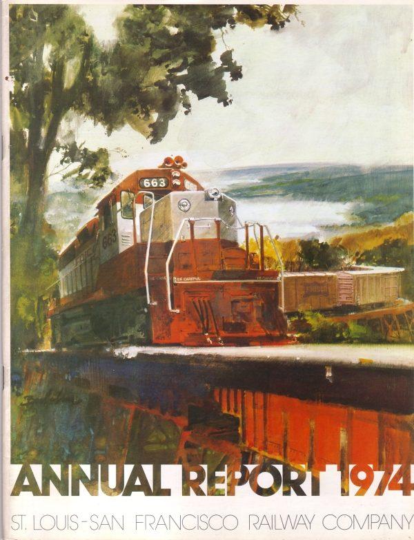 1974 Annual Report Cover