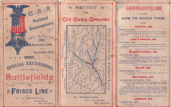 1887 - Special Excursions to the Battlefields