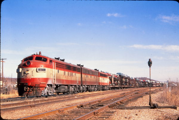 F7A 43 at Springfield, Missouri in January 1970 (Golden Spike Productions)
