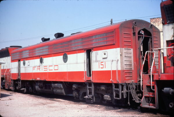 F9B 151 at Birmingham, Alabama in August 1974 (Conniff Railroadiana Collections)