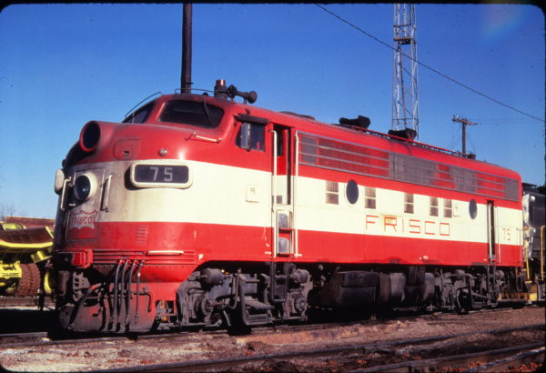 F9A 75 at Springfield, Missouri in December 1969 (Golden Spike Productions)