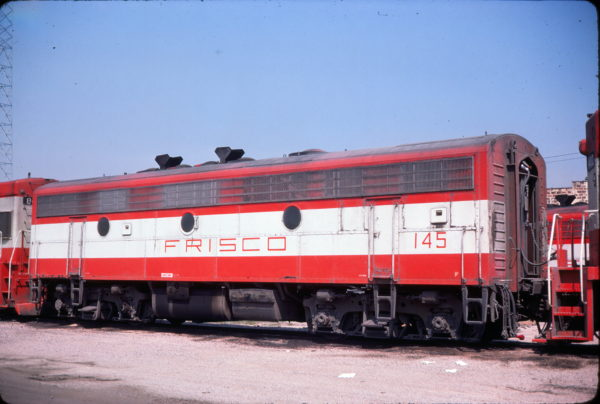 F9B 145 at Birmingham, Alabama in August 1974 (Conniff Railroadiana Collection)