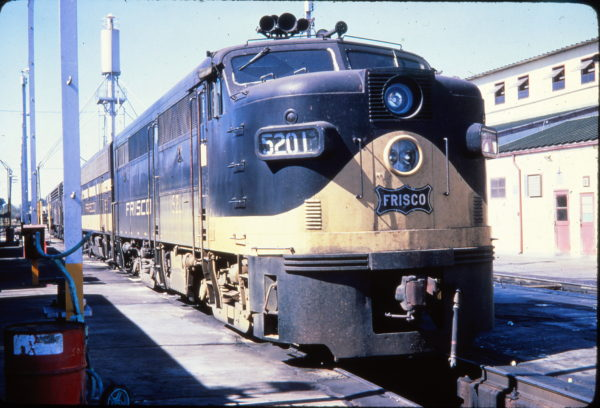 FA-1 5201 at Memphis, Tennessee in October 1966 by (Golden Spike Productions)