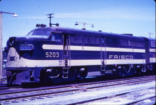 FA-1 5203 at St. Louis, Missouri in July 1962 (Fred Byerly Blackhawk Films)