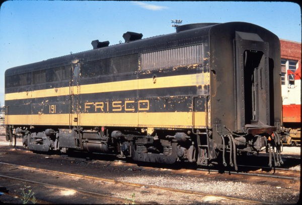 FB1 191 at Springfield, Missouri in September 1968 (Golden Spike Productions)