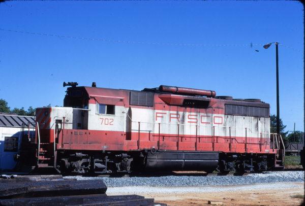 GP35 702 at Greenwood, South Carolina in June 1973