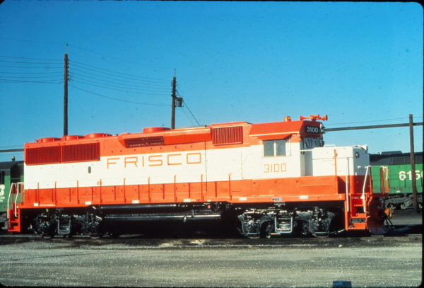 GP50 3100 at Cicero, Illinois in December 1980 (Vernon Ryder)