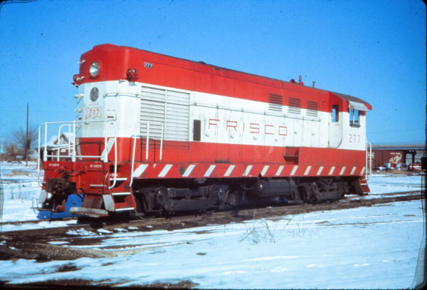 H-10-44 277 at Tulsa, Oklahoma in January 1973 (EVDA Slides)