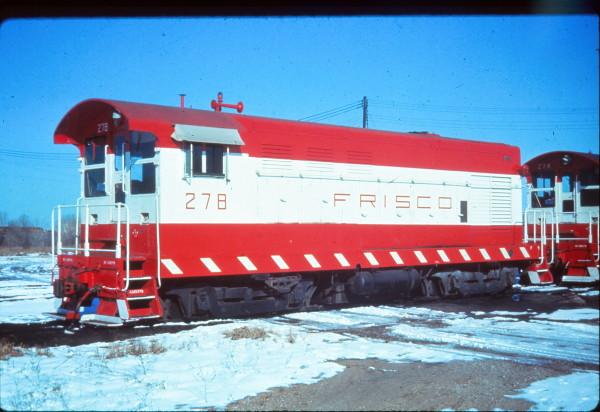 H-10-44 278 at Tulsa, Oklahoma in January 1973 (EVDA Slides)
