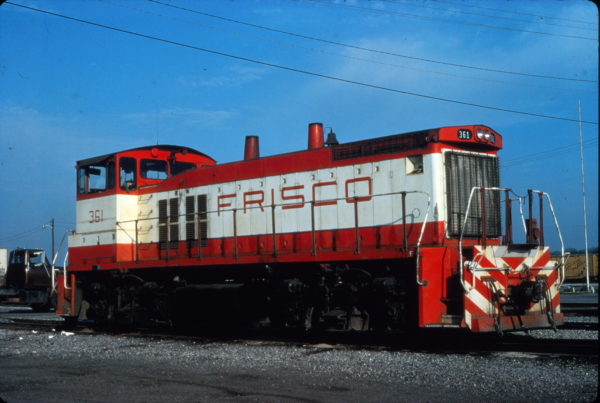MP15DC 361 at Birmingham, Alabama in April 1980 (Vernon Ryder)