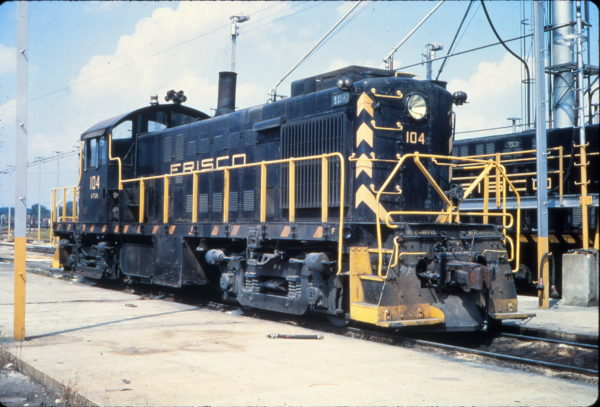 RS-1 104 at Memphis, Tennessee in September 1968 (Vernon Ryder)