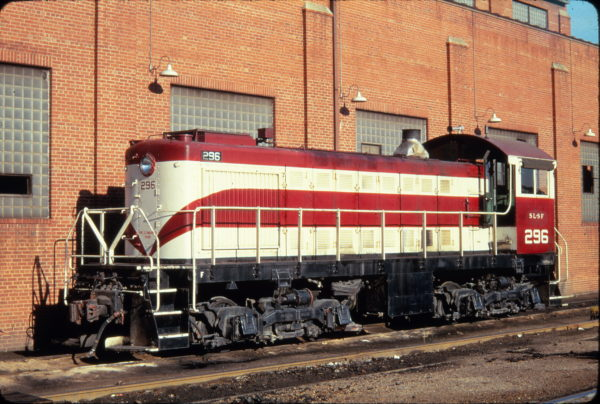 S-2 296 (ex-NEO 704) at St. Louis, Missouri in October 1967 (Golden Spike Productions)
