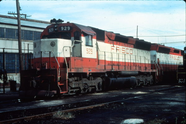 SD45 929 at Portsmouth, Virginia in August 1977 (Vernon Ryder)