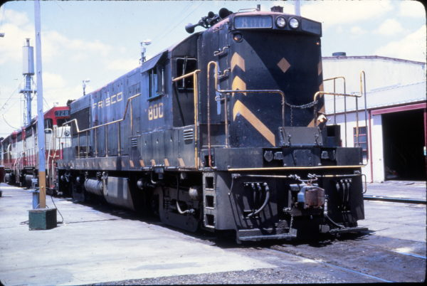 U25B 800 at Memphis, Tennessee in May 1968