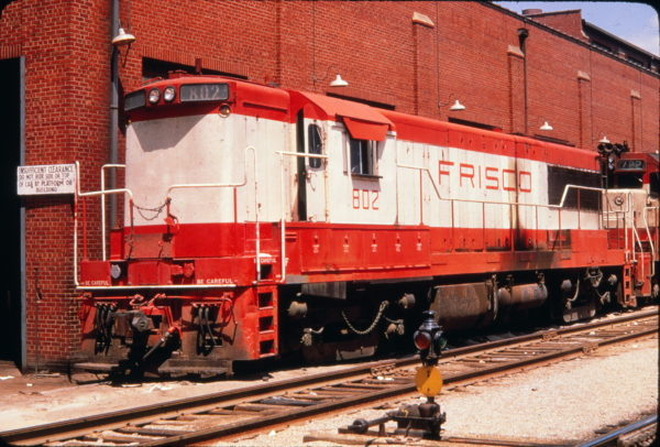 U25B 802 at St. Louis, Missouri in July 1968 (Golden Spike Productions)