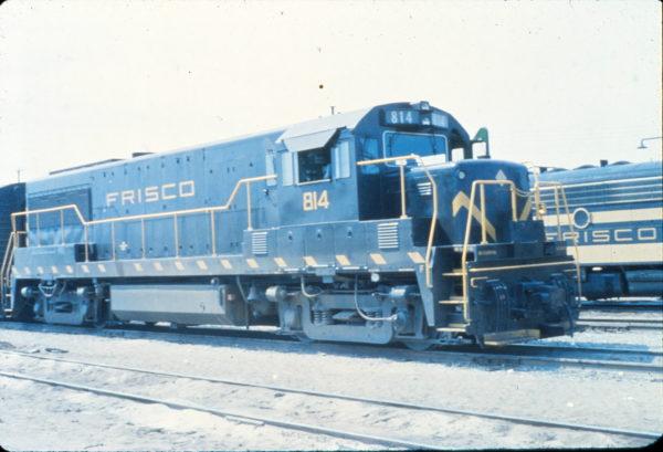 U25B 814 at Springfield, Missouri in August 1963 (Vernon Ryder)