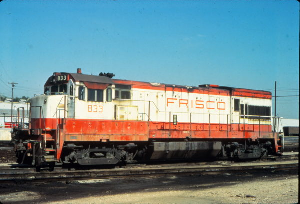 U30B 833 at Kansas City, Kansas in September 1978 (Vernon Ryder)