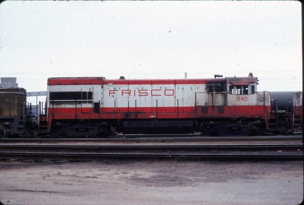 U30B 848 at Kansas City in April 1978