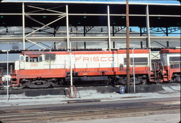 U30B 848 at Salt Lake City, Utah in April 1978