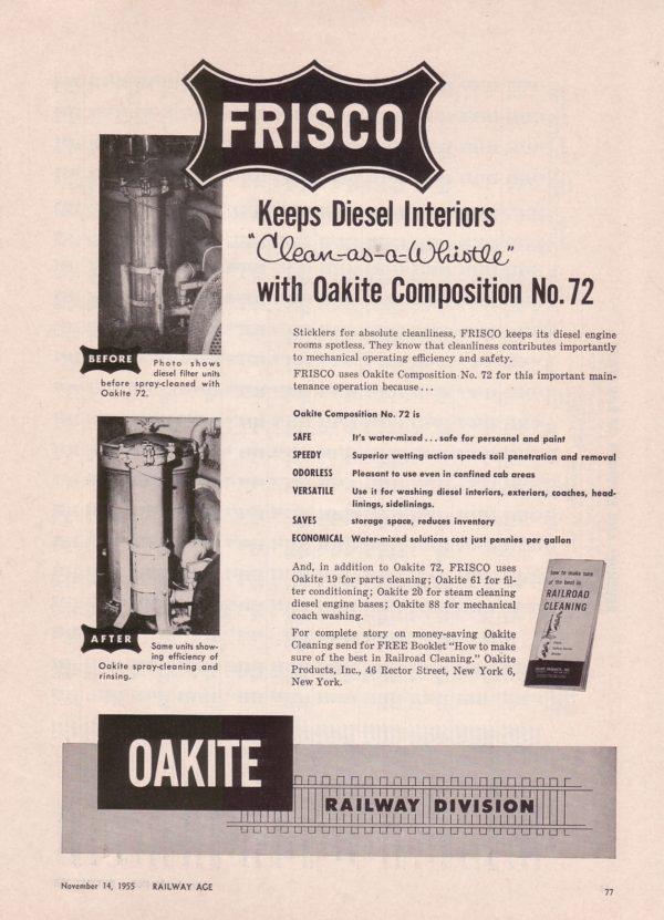 Oakite Railway Division