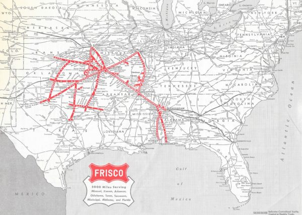 Frisco Routemap