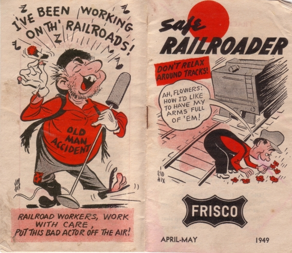 1949 Safe Railroader Booklet