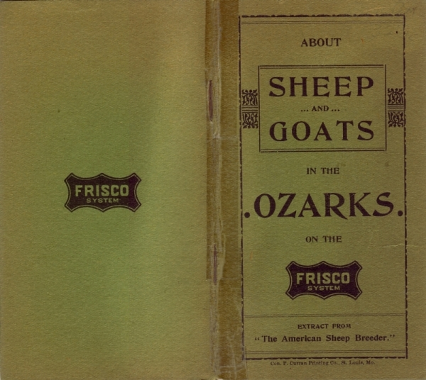 About Sheep and Goats in the Ozarks