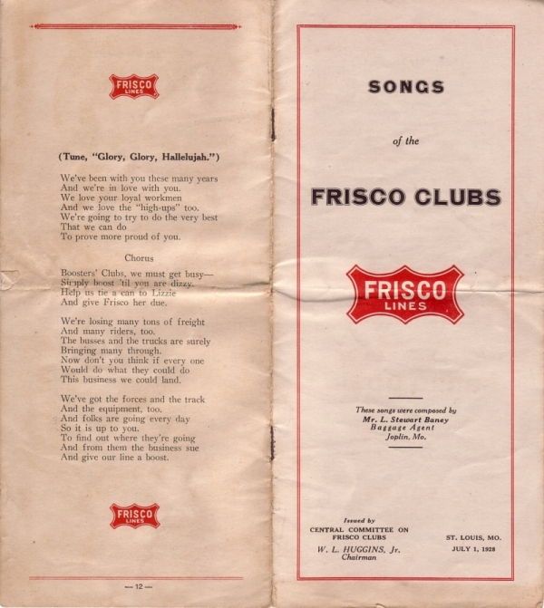 1928 - Songs of the Frisco Clubs