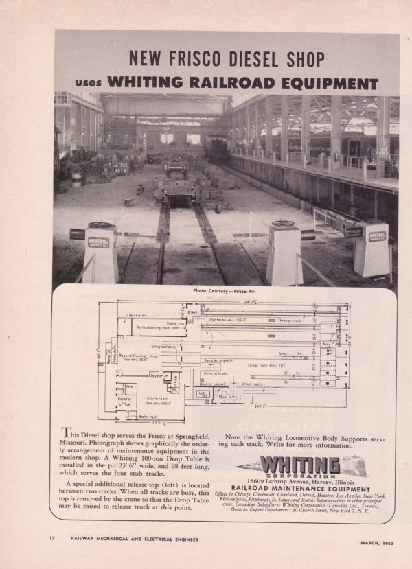 Whiting Railroad Equipment