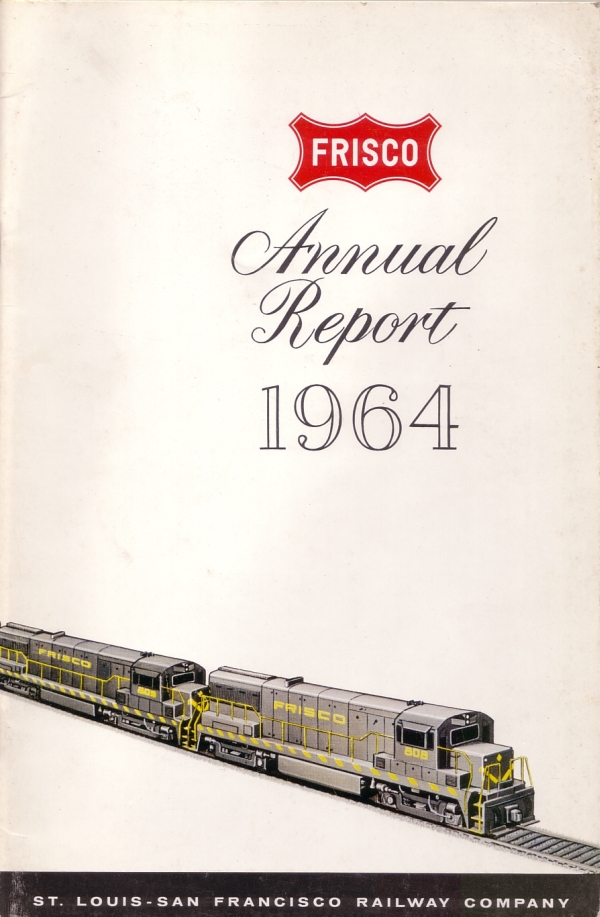 1964 Frisco Annual Report Cover