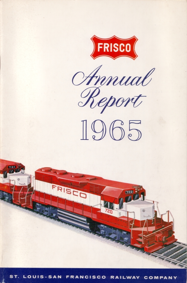 1965 Frisco Annual Report Cover
