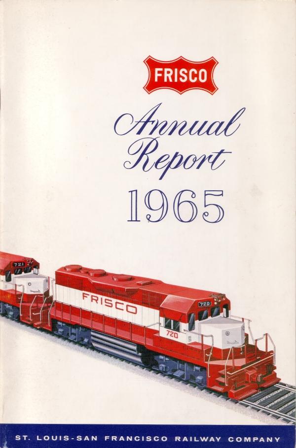 1965 Frisco Annual Report Cover