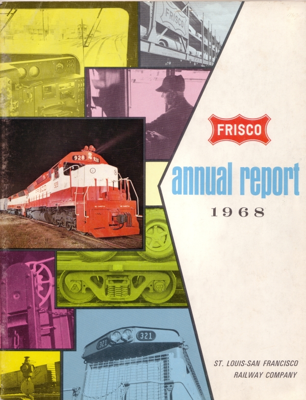 1968 Annual Report Cover