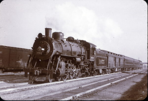 4-6-2 1055 at St. Louis, Missouri on March 1, 1946