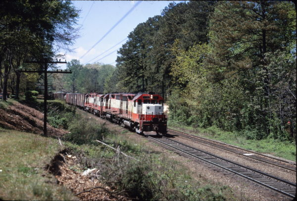 GP35 731 in the Atlanta, Georgia area in April 1972 (David Leonard)