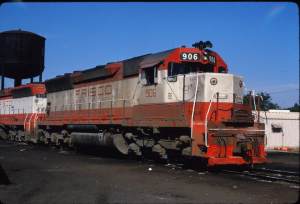 SD45 906 at Birmingham, Alabama in May 1972 (James C. Herold)