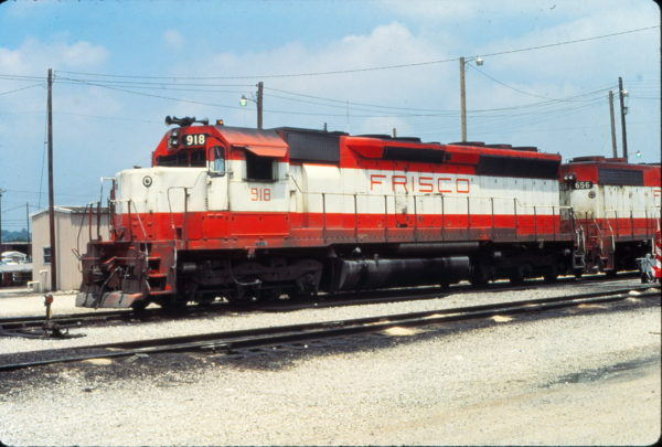 SD45 918 at Birmingham, Alabama in June 1979 (Vernon Ryder)