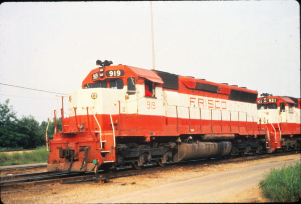 SD45 919 at Memphis, Tennessee in May 1980 (Vernon Ryder)