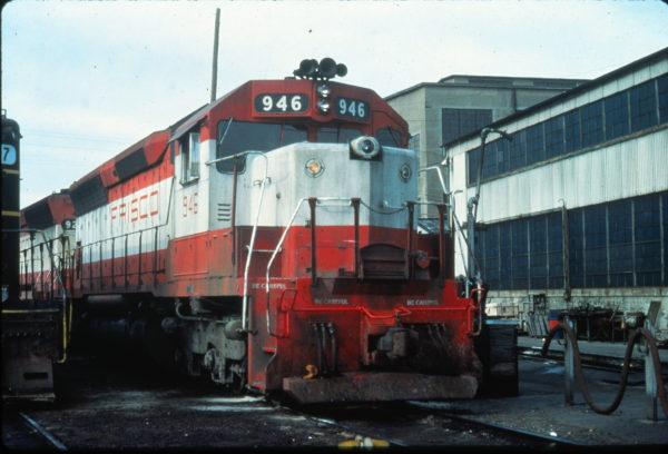 SD45 946 at Portsmouth, Virginia in August 1977 (Vernon Ryder)