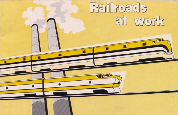1960 - Railroads at Work Cover