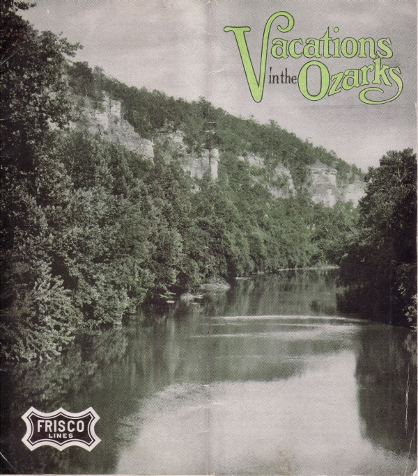 "Frisco's ""Vacations in the Ozarks"" Cover"