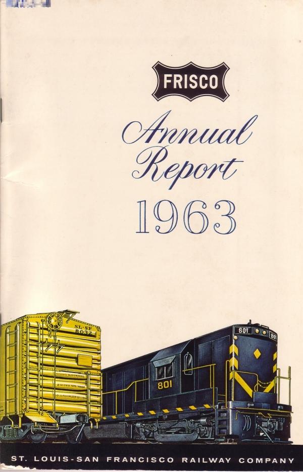 1963 Frisco Annual Report