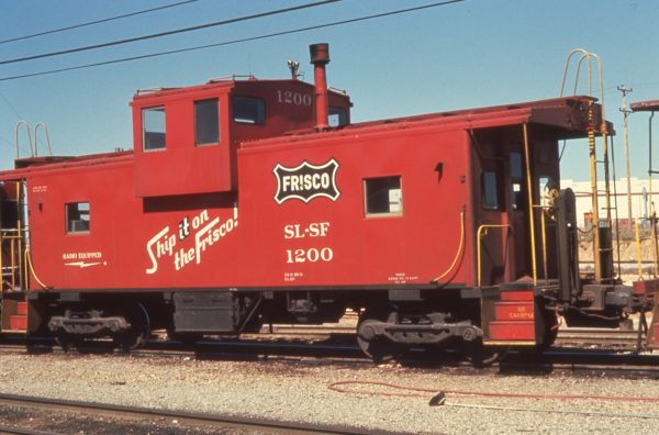 Caboose 1200 at Memphis, Tennessee in March 1972