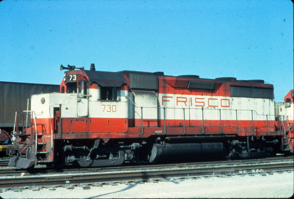 GP35 730 at Birmingham, Alabama in October 1979 (Vernon Ryder)