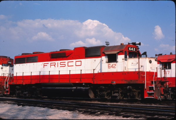 GP38AC 642 at St. Louis, Missouri in June 1981 (Michael Wise)