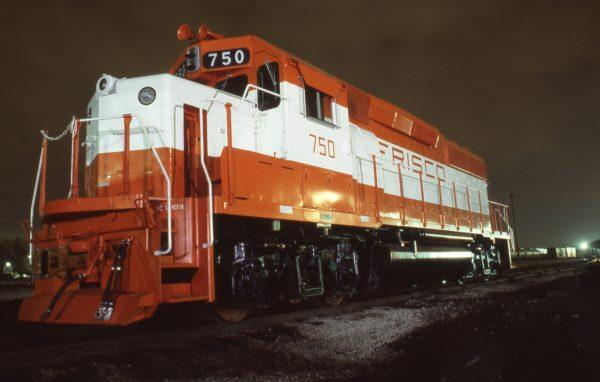 GP40-2 750 at LaGrange, Illinois on April 21, 1979 (Jeff Lemke)