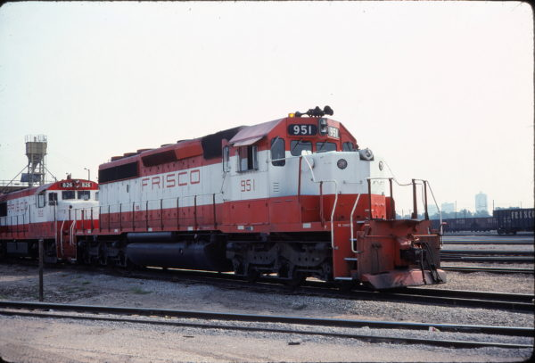 SD40-2 951 (location unknown) in July 1980
