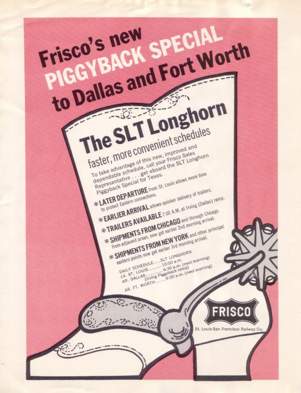 Frisco's New Piggyback Special to Dallas and Fort Worth