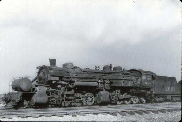 2-8-8-2 Mallet 2001 at Birmingham, Alabama in December 1937